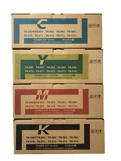 TK-560 Replace Toner Cartridge For ECOSYS FS-C5300DN / 5350DN Color Printer Machine